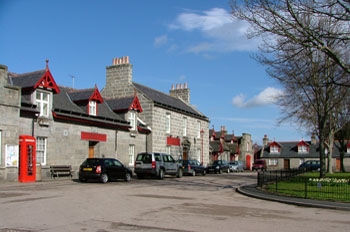 The Grant Arms Hotel in Monymusk
