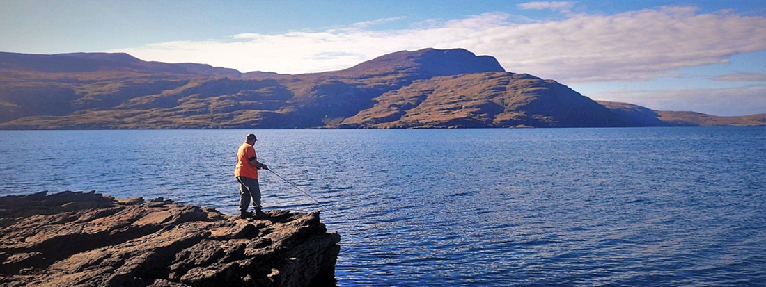 Hamish Young, fly fishing tuition and guiding in Scotland