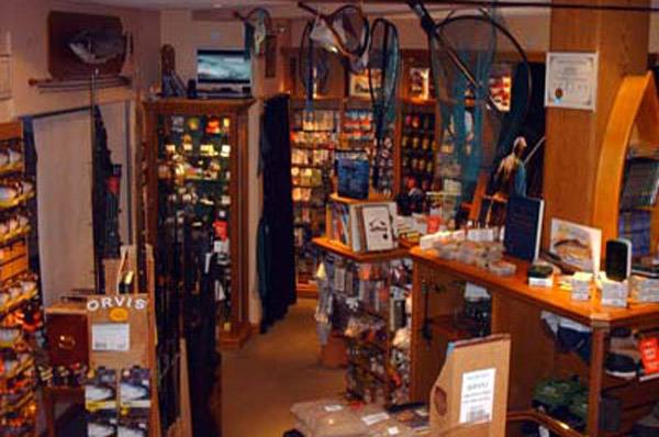 The Orvis Tackle Shop in Banchory