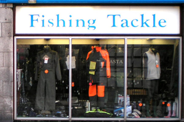 The Somers Fishing Tackle Shop in Aberdeen